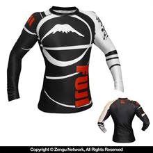 Long Sleeve IBJJF Ranked Rash Guards by Fuji